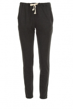 American Vintage |  Sweatpants Feelgood | dark grey