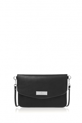 Rosemunde | Faux leather shoulder bag Lilo | black