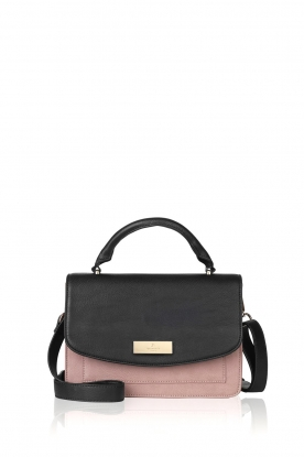 Rosemunde | Faux leather shoulder bag Rosy | black