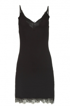 Rosemunde |  Slip dress Billie | black