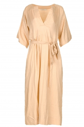 Rabens Saloner | Maxi dress Eris | nude