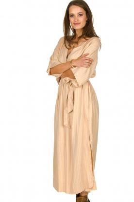 Rabens Saloner |  Maxi dress Eris | nude