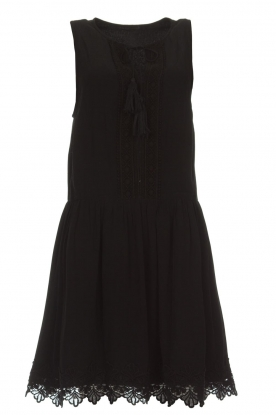 Freebird |  Dress with lace details Maza | black