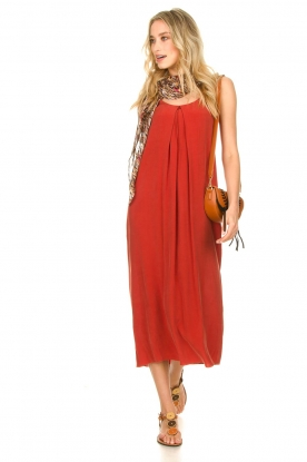 Rabens Saloner |  Maxi dress Brianna | red