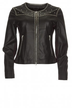 Arma |  Studio Ar leather jacket Chendra | black