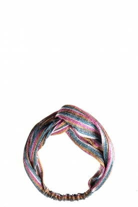 Becksöndergaard |  Striped glitter headband Salvador | multi