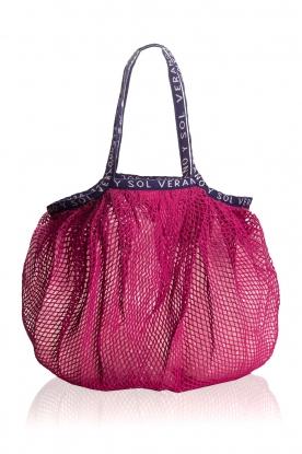 Becksöndergaard | Transparante shopper Reya | roze