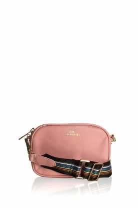 Becksöndergaard |  Leather bum bag Fany Rua | pink