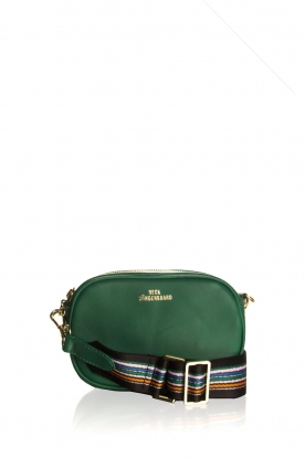 Becksöndergaard |  Leather bum bag Fany Rua | green