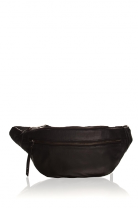 Becksöndergaard |  Leather bum bag Belly | black