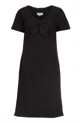 Les Favorites |  Dress with bow Suze | black