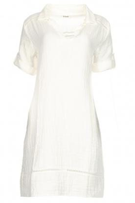 Les Favorites Katoenen jurk Philly  naturel