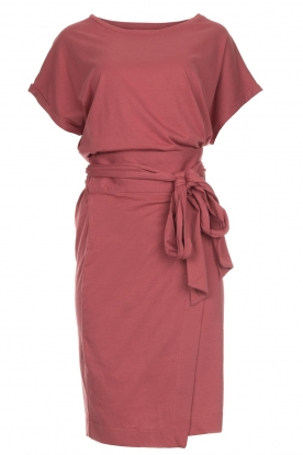 Les Favorites Katoenen wikkeljurk Jolie  roze