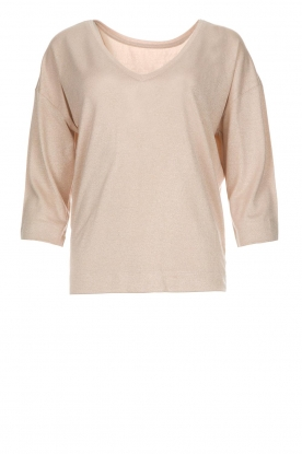 Les Favorites |  Top with lurex finish Day | nude