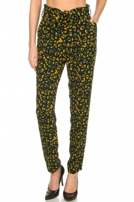 Dante 6 |  Pants with panther print Naveen | animal print