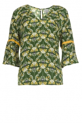 Dante 6 |  Printed top Kiki | green
