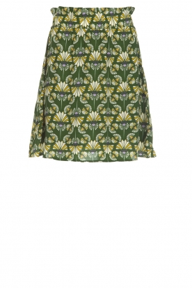 Dante 6 |  Skirt with print Frannie | green