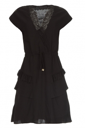 Dante 6 |  Dress with lace Polly | black