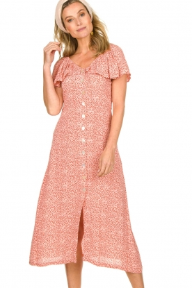 BEACHGOLD | Dress with dots Aria | pink