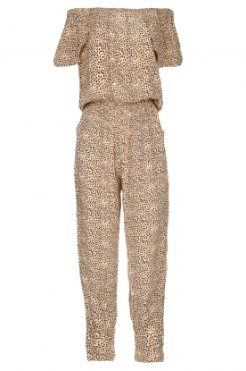 BEACHGOLD | Jumpsuit with dots Cap | beige