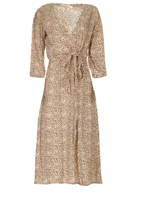 BEACHGOLD | Dress with dots Ronnie | beige