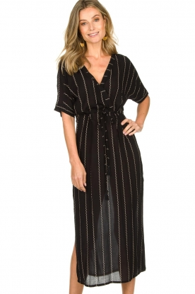 BEACHGOLD | Dress Riviera | black