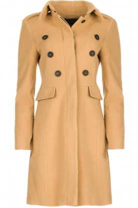Set |  Woolen coat Martina | camel