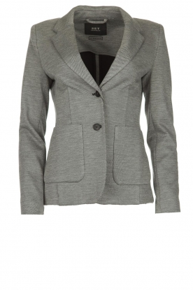 Set |  Melange blazer Max | grey