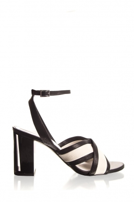 What For |  Sandals with heels Evi | black