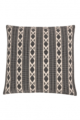 Little Soho Living |  50x50 Printed cushion cover Renny | black & white