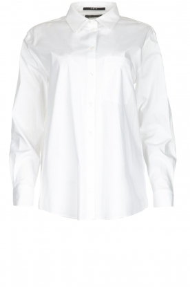 Set |  Oversized blouse Monica | white