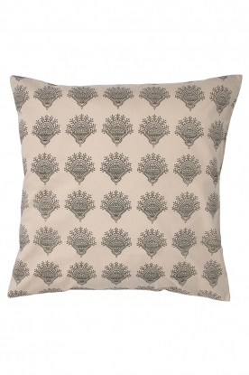 Little Soho Living |  50x50 Printed cushion cover Vivian | natural