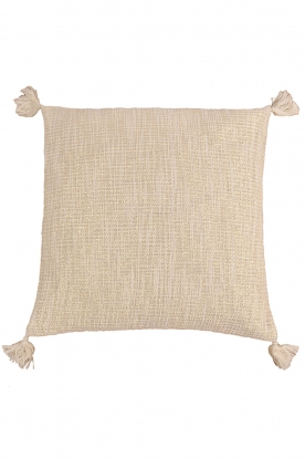Little Soho Living |  50x50 Boucle cushion cover with lurex Krishna | natural