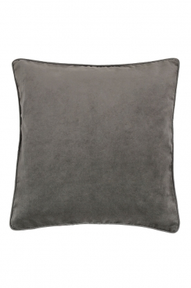 Little Soho Living |  50x50 Velvet cushion cover Londyn | grey