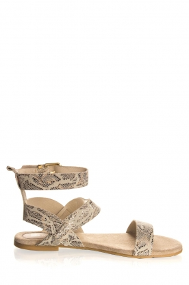 Maluo |Leather sandals Florentina | natural