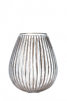 Little Soho Living |  Glass vase Cooper | gold