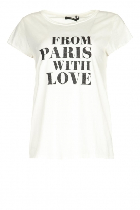 Set |  T-shirt with text print Mylu | white