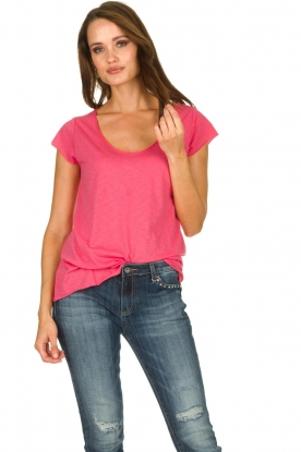 Set |  Basic T-shirt Maudie | pink