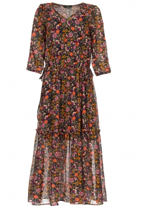 Set |  Floral maxi dress Mui | print