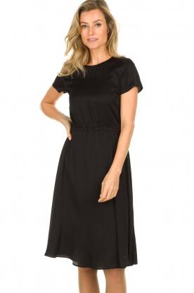 Set |  Basic dress Mijo | black