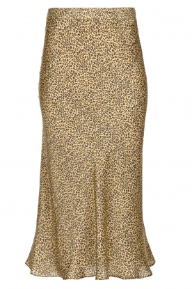 Set |  Leopard printed midi skirt Mowgli | animal print