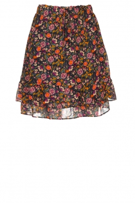 Set |  Floral skirt Marty | print