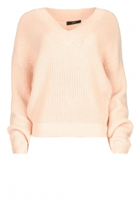 Set |  Knitted sweater Miha | pink
