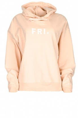 Set |  Hoodie with text print Marnie | pink