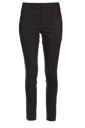 Set |  Classic trousers Mirthe | black