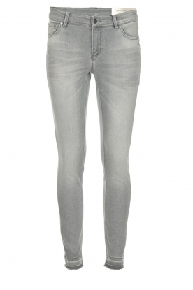 Set |  Skinny jeans Georgia Cropped | grey