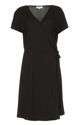Les Favorites |  Wrap dress Abby | black