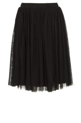 Les Favorites |  Pleated skirt Lilly | black