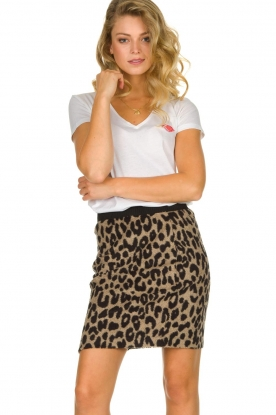 Les Favorites |  Leopard print skirt Karin | animal print