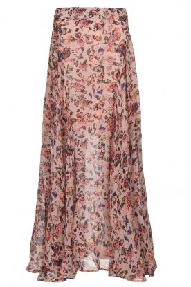 IRO |  Printed maxi skirt Diamond | pink